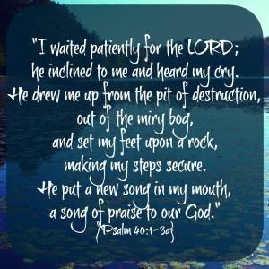 Psalm 401-3a
