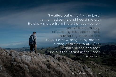 psalm 40 1 3